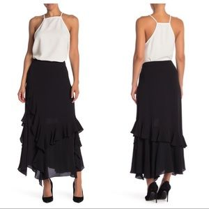 Vince Camuto Tiered Ruffled Skirt Size 6